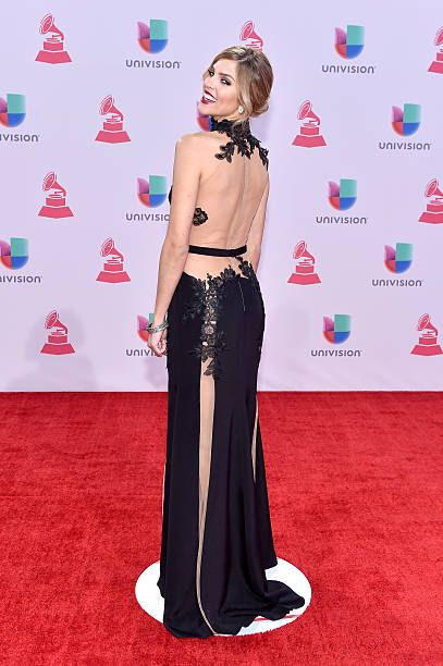 TV host/model Daniela di Giacomo attends the 16th Latin GRAMMY Awards at the MGM Grand Garden Arena on November 19 2015 in Las Vegas Nevada