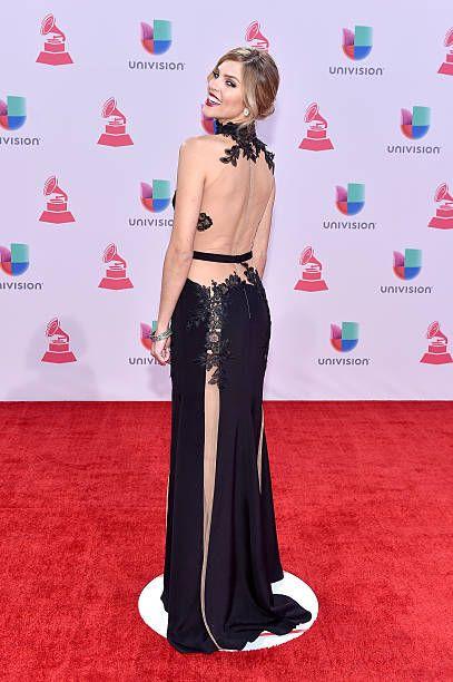 TV host/model Daniela di Giacomo attends the 16th Latin GRAMMY Awards at the MGM Grand Garden Arena on November 19 2015 in Las Vegas Nevada