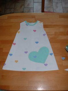 tuto robe trapèze 2 ans