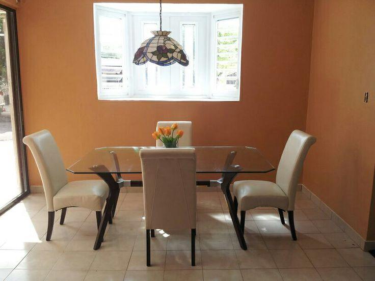 behr pumpkin butter dining room home depot paint colors. Black Bedroom Furniture Sets. Home Design Ideas