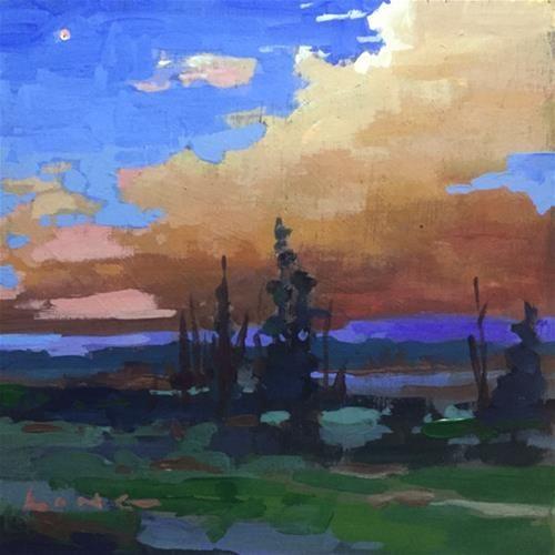 """""""Idaho Sunset/Venus"""" - Chris Long"""
