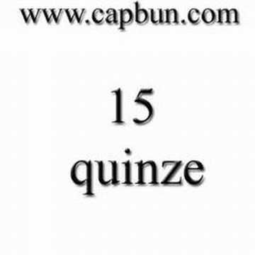 Learn french Numbers 11- 20