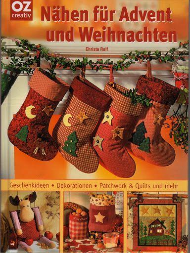 Nähen für Advent und Weihnachten - christine pages - Picasa Webalbumok