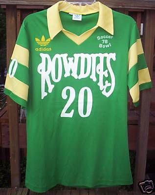Tampa Bay Rowdies. Oh the fun we had at those games