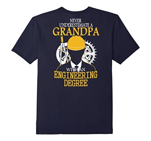 Men's Engineer Grandpa T-Shirt