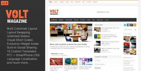 Σούπερ μοντέρνο και όμορφο περιοδικό, που αξιοποιεί πλήρως τις δυνατότητες του Wordpress!