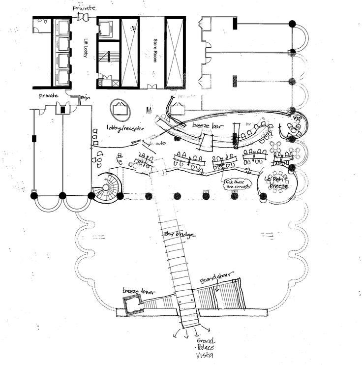 Early plan concept of Breeze  www.dwp.com