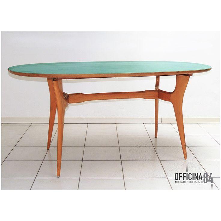 Tavolo anni 39 50 officina84 milano via padova via for Tavoli design milano