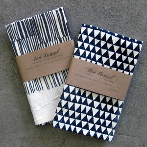 Task New York | Gifts for Daily Living — lines + triangles tea towels ($1-20) - Svpply