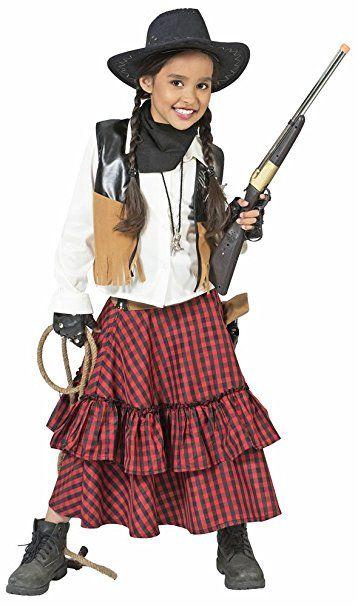 Cowgirl Austine Kostum Fur Madchen Gr 152 Kostum Kinder