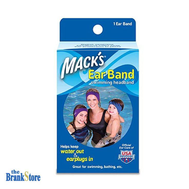 Swimming Ear Band Adults Kids Bathing Swim Headband Swimmers Ears Protection | eBay
