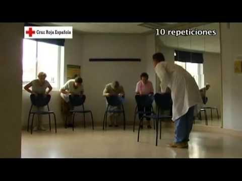 Ejercicios para personas mayores. Pies 5/7 - YouTube