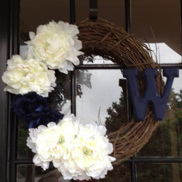 Do It Yourself Wreath. My First Pinterest Craft!