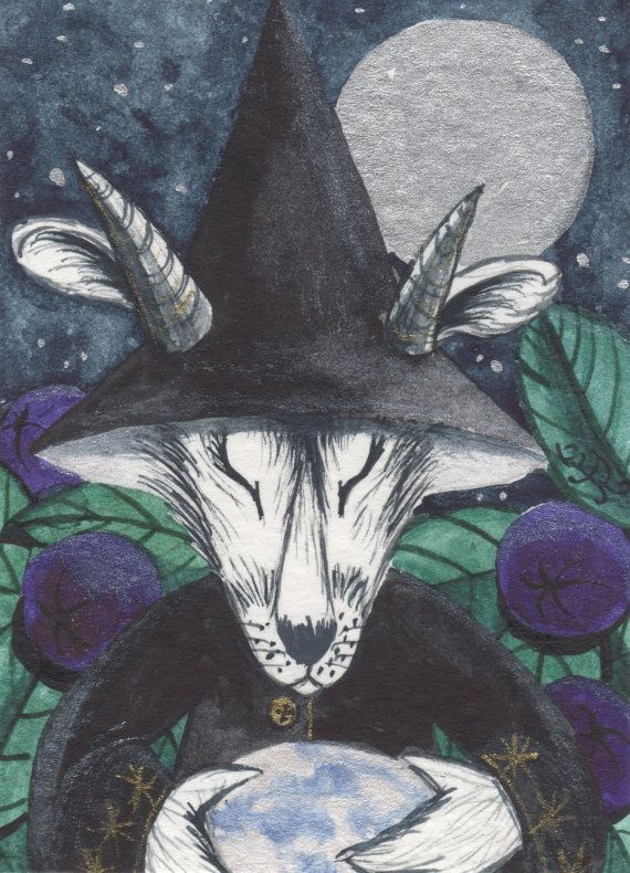 A4 Archival Print  'Sybil'  The divination by JacquiLoveseyArt