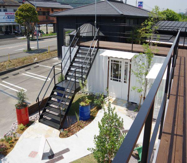 コンテナハウス「押川春月堂 高鍋店」|株式会社アーススマート