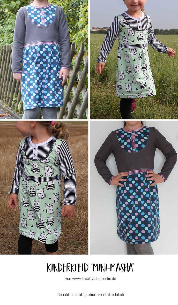 "Mini-Masha von ""Lotte Jakob"": http://de.dawanda.com/product/106471287-schnittmuster-kleid-shirt-mini-masha-92-164"