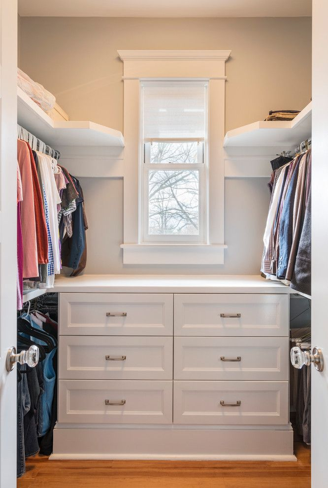 Small Walk In Closet Design Closet Traditional With Drawers Gray Wall  Hanging