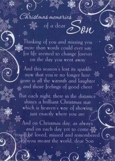 Merry Christmas Son Quotes: 11 Best Quotes: Loss Of Child Images On Pinterest