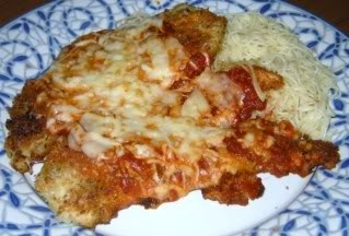 Oven Fried Chicken Parmesan* | T&T Cooking and Baking | Pinterest