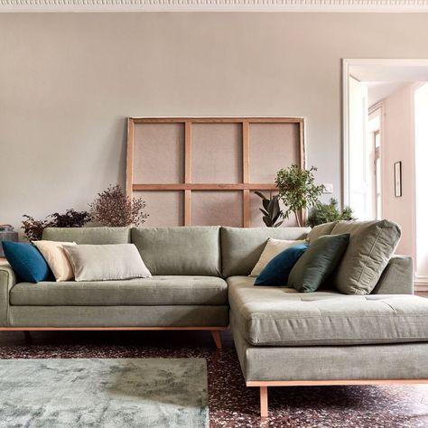 Corner sofa: 15 models for a living room design