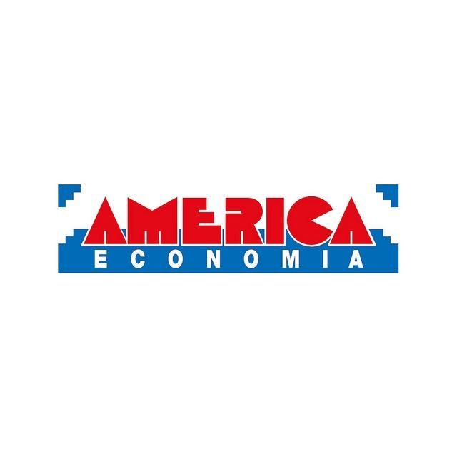 América Economía.  1986  Primer Logo de la revista America Economía