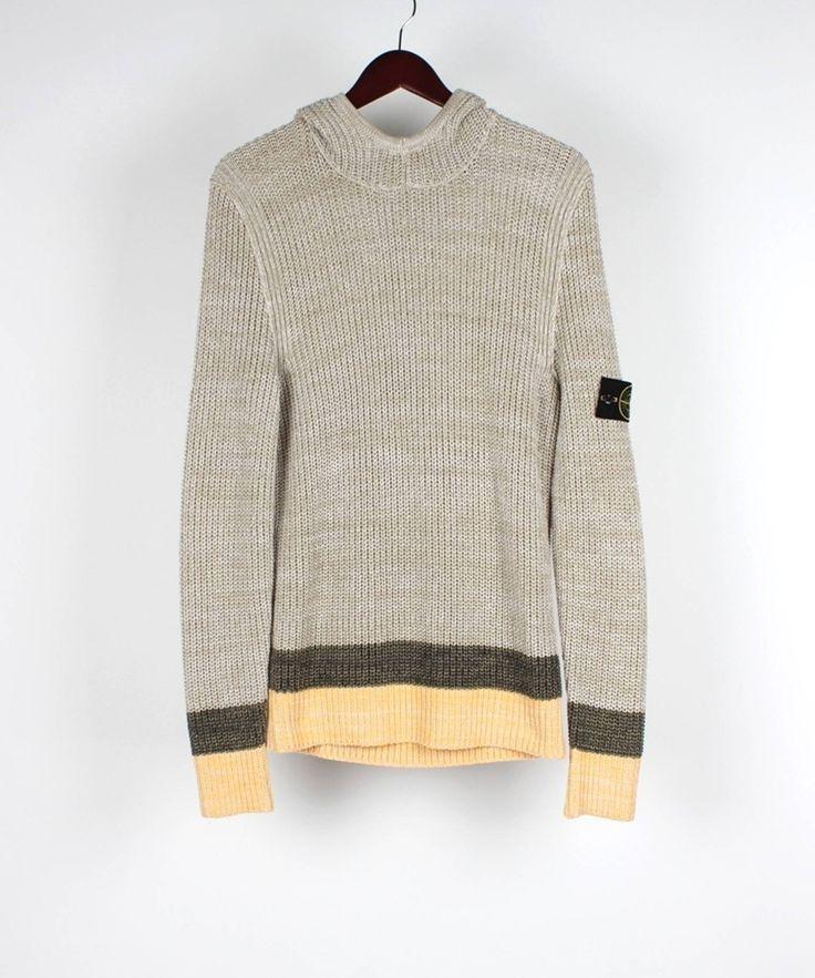Stone Island Stone Island Hooded Men Sweater Jumper Size L, NWT Size US M / EU 48-50 / 2