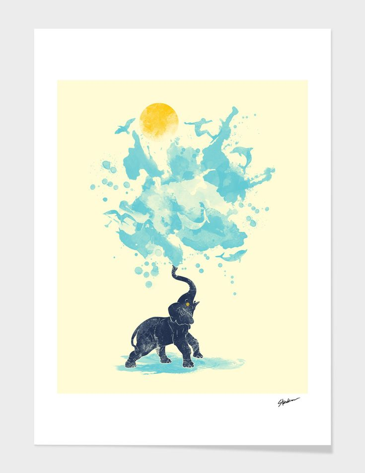 «Summer Splash», Numbered Edition Fine Art Print by Steven Toang - From 18€ - Curioos