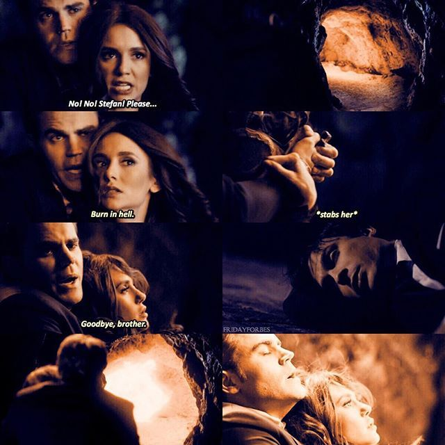 "#TVD 8x16 ""I Was Feeling Epic"" - Stefan and Katherine"