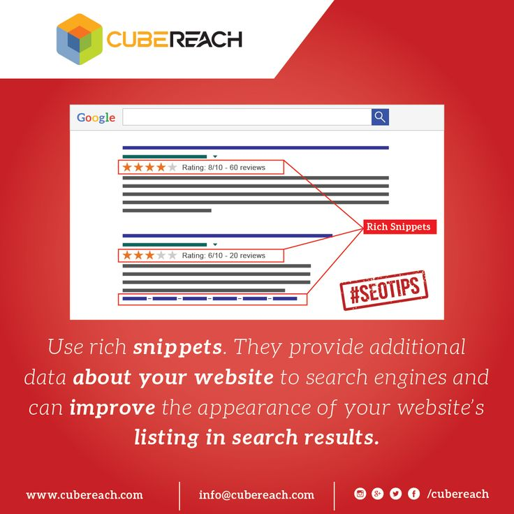 Use Rich Snippets... http://cubereach.com #seotips #richsnippets #reviewsandratings #structureddata #schemaorg #microformats #googlesearch #seoindubai #dubaiseo #localsearch #breadcrumbs
