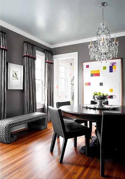 love the wall and ceiling color