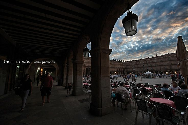 Plaza Mayor .Salamanca .Spain