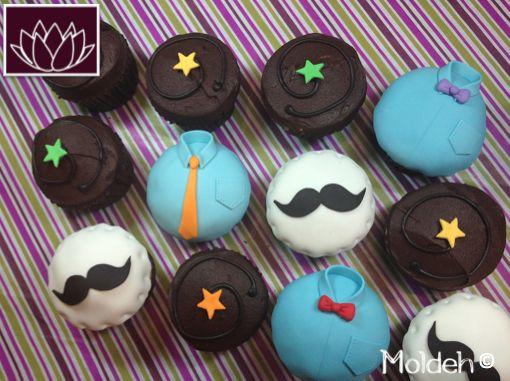 Cupcakes para Día del Padre