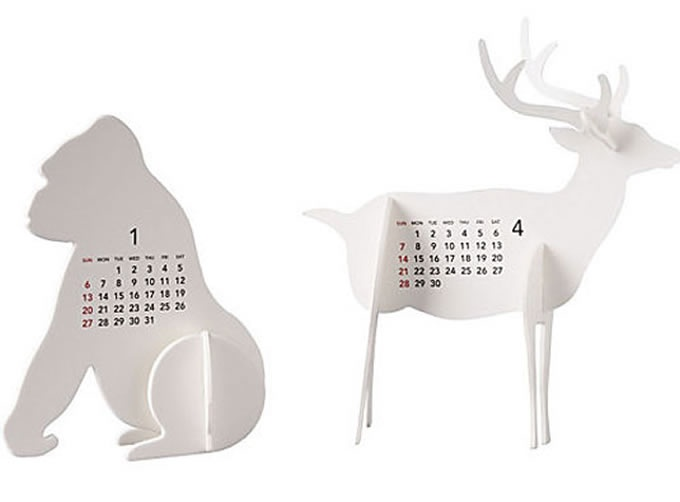 Creative and Very Interesting Calender Designs