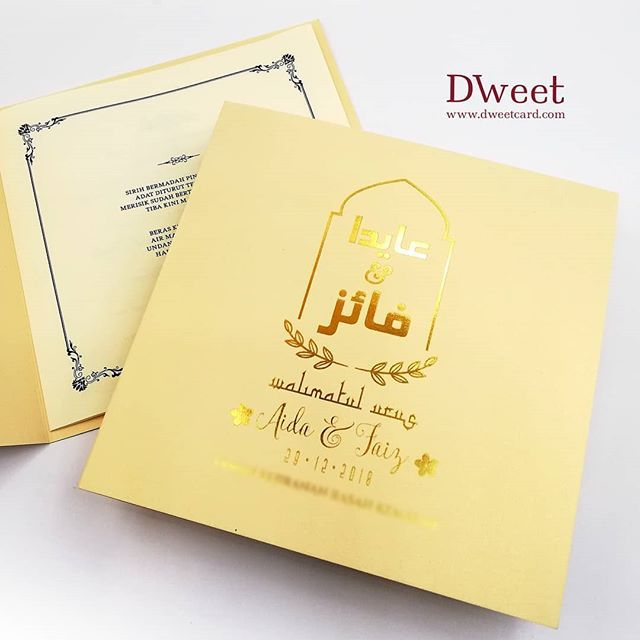 Saiz 6x6in 1 Lipatan Material Metalik Paper Finishing Hotstamping Untuk Mendapat Penerangan Lebih Lanjut Mengenai Kad Kahwin Notebook Office Supplies