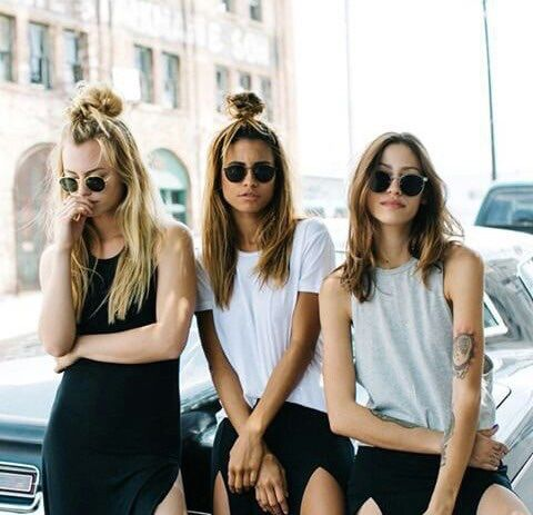 How stylish do these girls look? Find similar sunglasses here: http://asos.do/Ga5ASI and http://asos.do/r8Lysw