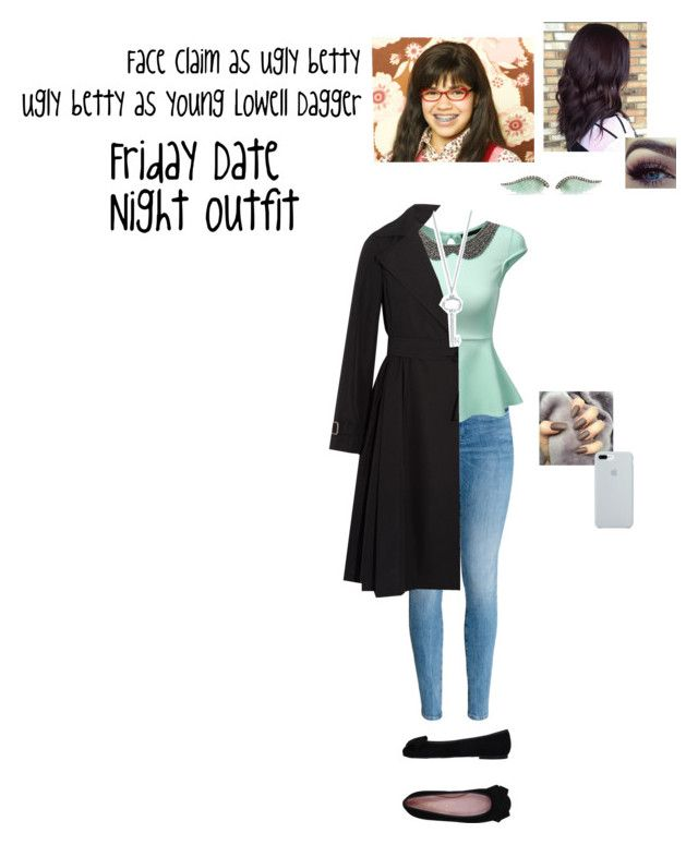 """""""Lowell's Date night with Jason Blossom"""" by itsalyssianicole ❤ liked on Polyvore featuring H&M, J.TOMSON, Pretty Ballerinas, MaxMara, ETUÍ, Noor Fares and Tiffany & Co."""