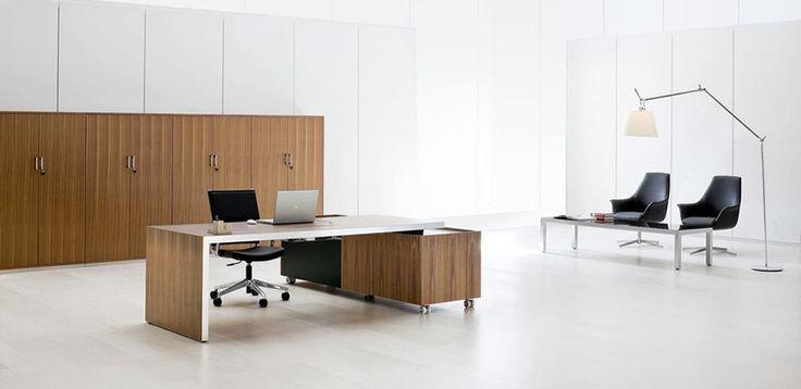 Mesas Escritório Design Fattore Alpha por Archiutti, design Grazia Azzolin
