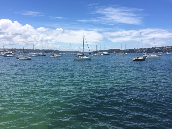 A beautiful day on sydney harbour.