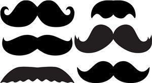 Mustache - Silhouette Online Store