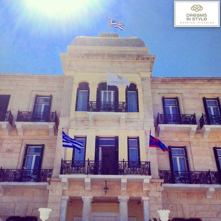 Amazing Poseidonio Hotel, in Spetses island. #poseidonio #hotel #greekislands #spetses #classy #dreamsinstyle