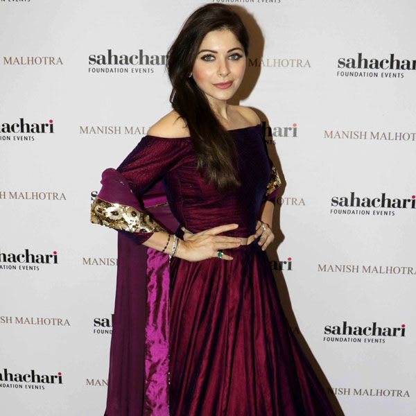 Kanika Kapoor at the launch of Manish Malhotra's new collection titled, 'The Regal Threads'. #Bollywood #Fashion #Style #Beauty #Hot #Punjabi
