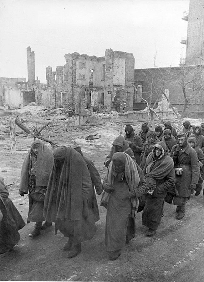 Stalingrad, 1942/43, German POWs.