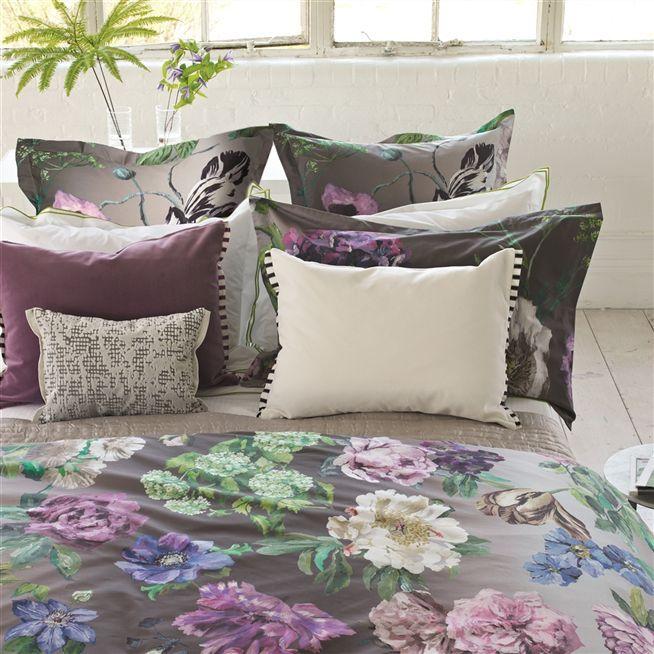 Varese Crocus Throw Pillow | Designers Guild
