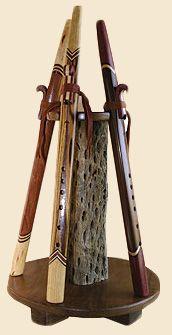 Custom Made Native American Love Flute Stand