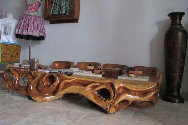 Explore kayreal's photos on Flickr. kayreal has uploaded 181 photos to Flickr.  #handicraft #wood #beautiful #beauty #art #vigor #kerajinan #kayu #teakroot #akarjati #kuat #indah #keindahan #indonesia #indonesian #industri #jati #table #meja #tunggak #perabot #furniture #mebel #gembol #akar