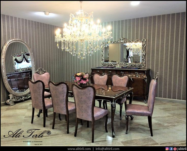 ✨✨Ambiance Yemek Odası Takımı...✨✨ | +90 533 595 58 07 #alitirli #architecture #yemekodasitakimi #mimar #yemekmasasi #livingroomdecor #sandalye #home #istanbul #textiles #chair #persan #homeinterior #interiors #tablo #classic #furniture #evdekorasyonu #florya #mobilya #perde #yesilkoy #holiday #duvarkagidi #kumas #azerbaijan #art #luxury #luxuryfurniture #interiorsdesign