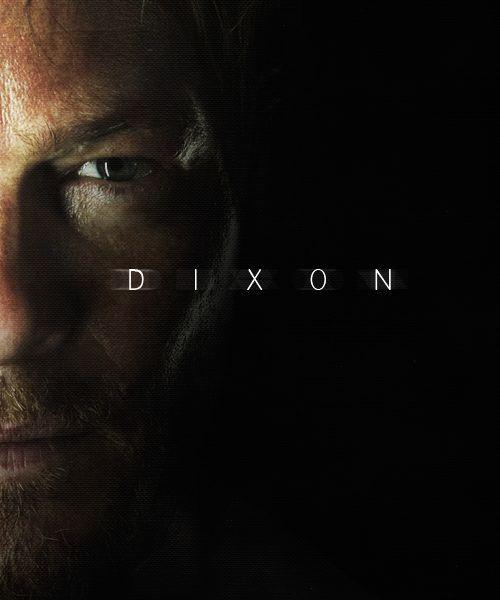 one of my favorites in the walking dead series, Daryl Dixon [Norman Reedus]