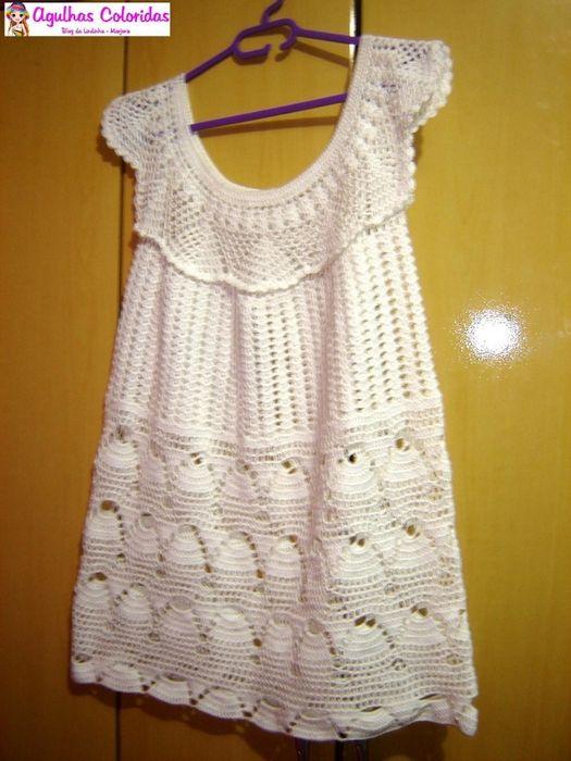 Вязаное платье крючком: Crochet Women, Crochet Proyect, Tissue, Crochet Things, Crochet Wearable, Crochet Lovers, Crochet Inspiration, Crochet Clothing, Crafts