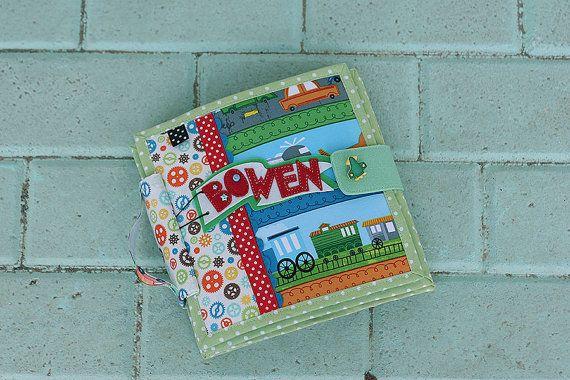 """Tranquille, libro, libro occupato, pagine di viaggio tema panno libro 6, feltro bambola """"carta"""", su ordinazione"""