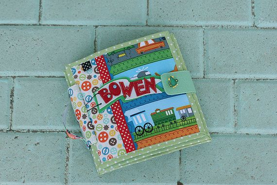 Travel theme Quiet book, Busy book, 6 pages
